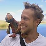 Dimitri Tuomela ja kameleontti